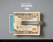 CDWBROWNIE(MoneyClip/CardHolder)/ブラウニーマネークリップカードホルダーCANDYDESIGN&WORKSキャンディデザイン&ワークス日本製ヴィンテージDETAIL