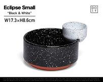 """EclipseSmall""""Black&White""""/エクリプススモール""""ブラック&ホワイト""""doiy/ドゥーアイワイボウル2個セット飛沫(しぶき)サラダディップDETAIL"""