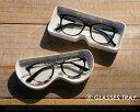 GLASSES TRAY グラス(眼鏡) トレー PUEBCO プエブコメガネ 眼鏡型トレー トレイ メガネ置き