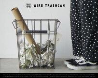 WIRETRASHCAN/ワイヤートラッシュカンPUEBCOプエブコゴミ箱ごみダストボックスランドリーボックス洗濯物入れ