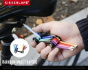 Rainbow Multi Tool Set レインボーマルチツールセット Kikkerland キッカーランド 6角レンチ 六角 プラス マイナス トルクス ...