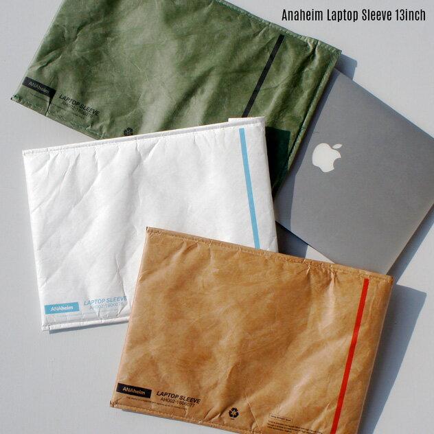 Anaheim Laptop Sleeve 13inch / ラップトップ スリーブ 13インチANAHEIM HOUSEHOLD GOODS / アナハイムタイペック DUPON社 Tyvekmac book air13 マックブック PCケース ノートパソコン ケース 書類入れ 封筒 DETAIL