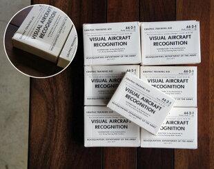 VisualAircraftRecognitionCardsヴィジュアルエアークラフトリコグニションカードUSAアメリカ軍戦闘機飛行機