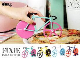Fixie Pizza Cutter / フィクシーピザカッター doiy / ドゥーアイワイ ピストバイク ピスト ピザ カッター 自転車 フィックスバイク バイク DETAIL