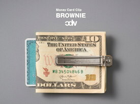 CDW BROWNIE(Money Clip/Card Holder) / ブラウニー マネークリップ カードホルダー CANDY DESIGN & WORKS キャンディ デザイン&ワークス 日本製 ヴィンテージ DETAIL