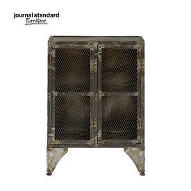 journal standard Furniture ジャーナルスタンダードファニチャー GUIDEL MESH LOCKER LOW ギデル メッシュロッカー ロー 幅67×高さ93cm 鉄製 アイアン 什器 おしゃれ 収納 店舗 ショップ 事務所 アパレル 送料無料