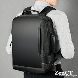 【送料無料】リュックサック ビジネスリュック 3way パソコンバッグ マチ拡張機能 カバン メンズ レディース 盗難防止ラップトップ バックパック 防水 USB充電ポート搭載 男女兼用 ブラック CT055