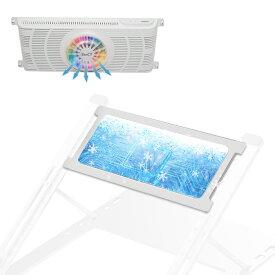 ノートパソコン冷却クーラー CT158A/CT158専用 冷却クーラー ペルチェ素子冷却クーラー ノートPC 冷却 クーラー 電子の力で瞬間冷却 低騒音 強冷冷却ファン LEDバッグライト付き (クーラーのみ、スタンド含まない)日本語取扱書付 CT158-1