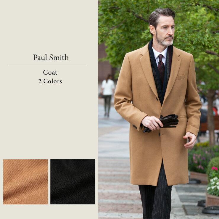 ポールスミス Paul Smith チェスターコート カシミヤ混 シングル ブランド メンズ 男性 カジュアル アウター チェスター コート PSPRXD116R 楽天カード分割 【zenonline】