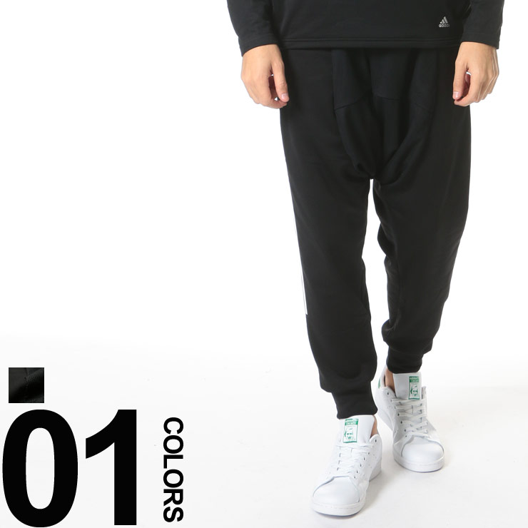 adidas by kolor アディダス バイ カラー メッシュオーバーレイ サイドスリーストライプス サルエルパンツ HYBRID PANTS ADKLCD4080 ブランド カジュアル ボトムス パンツ フリースパンツ サルエル