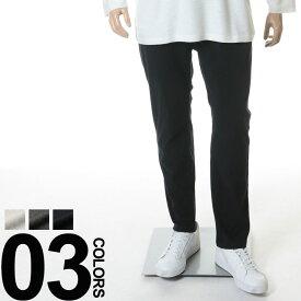 大きいサイズ メンズ DOMINATE ドミネイト ストレッチ 杢柄 ウエストコード ジップフライ テーパード イージーパンツ