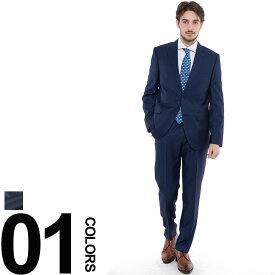 ヒューゴボス HUGO BOSS スーツ 2B シルク混 ウール シングル ブランド メンズ 紳士 ビジネス HBJL10203861