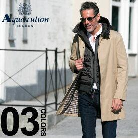 アクアスキュータム ロンドン Aquascutum LONDON コート ステンカラー シングル ブランド メンズ コート メンズ アウター ビジネス ブロードゲート AQBROADGATE7S