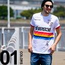 ディーゼル DIESEL Tシャツ フロントプリント クルーネック 半袖 ブランド メンズ 男性 カジュアル トップス ティーシ…