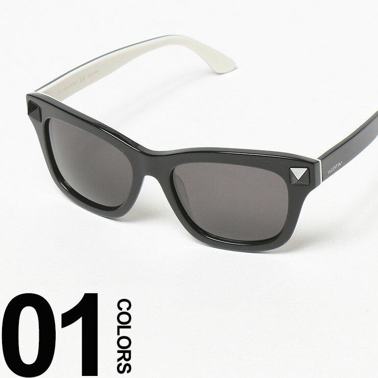 ヴァレンティノ Valentino ロゴ スタッズ付き ウエリントンフレーム サングラスブランド メンズ 男性 カジュアル ギフト プレゼント ラッピング 贈り物 眼鏡 メガネ VL670SC015 【zenonline】