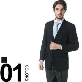 SAKAZEN (サカゼン) ウール混 ウォッシャブル 1ポンド シングル 2ツ釦 ブレザー メンズ 紳士 男性 ビジネス アウター シングルジャケット テーラード 軽量
