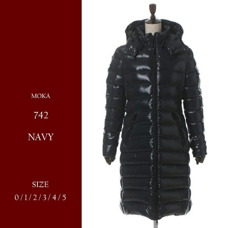 【ラスト1点/5サイズ】モンクレール MONCLER ダウンコート ダウンジャケット MOKA モカ ナイロン フード ブランド レディース MCLMOKA7