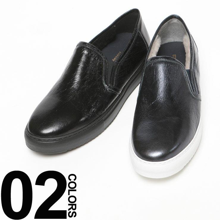 ステファノガンバ STEFANO GAMBA レザー 内ボア スリッポン スニーカー ブランド メンズ ファッション 靴 シューズ メタリック 本革 SGZX230HERMES