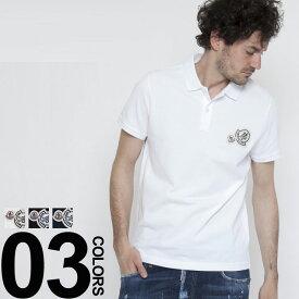 モンクレール MONCLER ポロシャツ 半袖 ワッペン ブランド メンズ MC830420084556