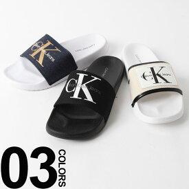 完全処分最終価格 CK レディース サンダル カルバンクライン ジーンズ Calvin Klein Jeans スライドサンダル シャワーサンダル ブランド レディース 靴 34R