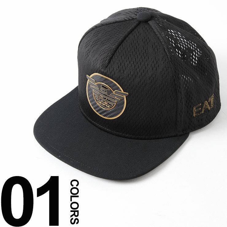 エンポリオアルマーニ EMPORIO ARMANI EA7 キャップ ロゴ メッシュ スナップバック ブランド メンズ 帽子 EA2757778P508