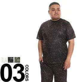 大きいサイズ メンズ Kaepa (ケイパ) 吸水速乾 冷感 マイクロメッシュ 半袖 Tシャツ トップス ティーシャツ スポーツ 夏 UV対策 吸汗 速乾 BIG SIZE スポーツ トレーニング ウエア KP32121B