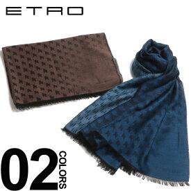 エトロ ETRO ストール バイカラー ペイズリー スカーフ メンズ ブランド 総柄 ET1H8709844