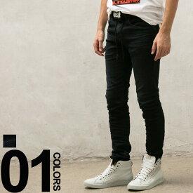 ディーゼル DIESEL ジョグジーンズ ストレッチ ジップフライ Jogg Jeans THOMMER メンズ ブランド ボトムス ジーパン デニム ウォッシュ加工 DSTHOMMERNE69CM