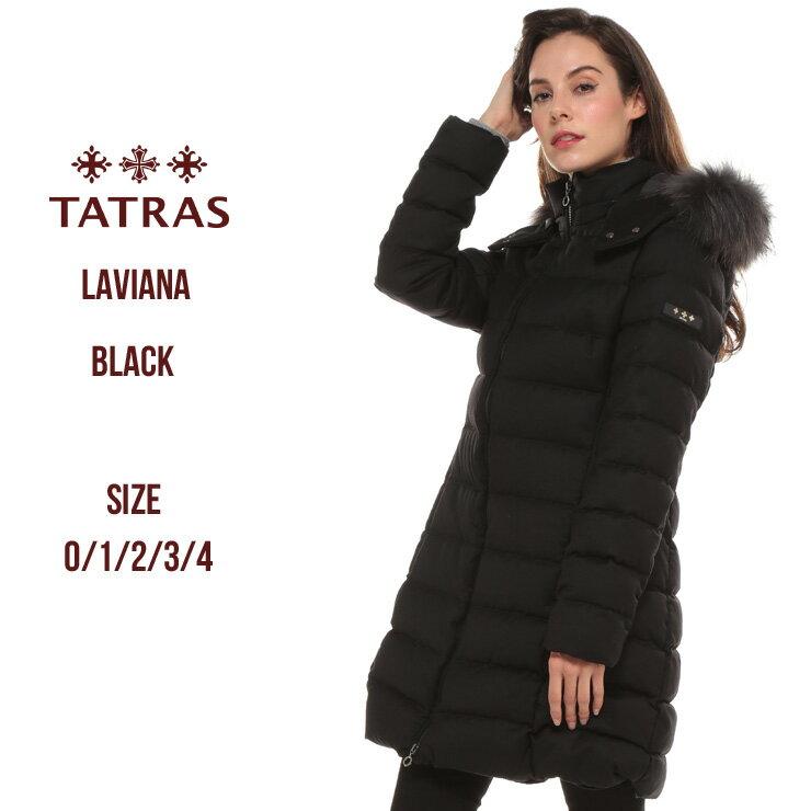 タトラス ダウンコート レディース TATRAS ウール ラクーンファー パーカー フード ダウンジャケット ラビアナ LAVIANA ブランド レディース アウター ロング TRLTA19A4571