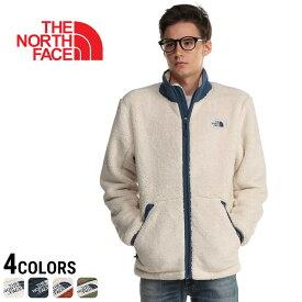 THE NORTH FACE ザ ノースフェイス 胸ロゴ ボア フルジップ ブルゾン Campshire Full Zipメンズ カジュアル 男性 ファッション トップス アウター ジップ もこもこ 防寒 秋冬 NF0A33QW