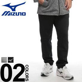 大きいサイズ メンズ MIZUNO (ミズノ) 裏起毛 ウエストコード スウェット パンツ [3L-6L]