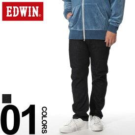 大きいサイズ メンズ EDWIN (エドウィン) 02 WATER E-FUNCTION GEAR テーパード ジーンズ [2L-5L]