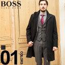 ヒューゴ ボス コート HUGO BOSS ナイロン スタンドカラー フルジップ ブランド メンズ ビジネス アウター HBRMOLTEDO…