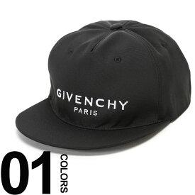ジバンシィ GIVENCHY ジバンシー キャップ ロゴ 刺繍 マジックテープ アジャスター ブランド メンズ 帽子 GVBPZ001K0CE