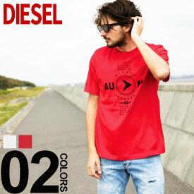 ディーゼル DIESEL Tシャツ 半袖 プリント クルーネック T-JUST-Y2 ブランド メンズ トップス コットン プリントT DSSSPP091A SALE_1_a