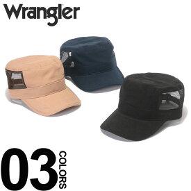 大きいサイズ メンズ wrangler (ラングラー) 無地 メッシュ切り替え ワークキャップ カジュアル ファッション 小物 帽子 サイズ調節可能 春夏 BTDS815