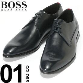 ヒューゴ ボス HUGO BOSS シューズ レザー レースアップ 外羽根 プレーントゥ ビジネスシューズ NAVY ブランド メンズ 革靴 本革シューズ HBR50383528 SALE_4_b