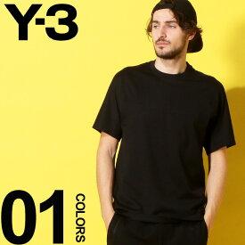 Y-3 ワイスリー Tシャツ 半袖 袖 ロゴ 刺繍 プリント クルーネック BLACK ブランド メンズ トップス YOHJI YAMAMOTO ヨウジヤマモト Y3DY7182