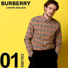 バーバリー BURBERRY シャツ 長袖 バーバリーチェック ノバチェック ストレッチ コットン ブランド メンズ トップス BB8004832