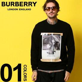 バーバリー BURBERRY スウェット トレーナー プリント アーカイブ キャンペーン スエット ブランド メンズ トップス BB8009976