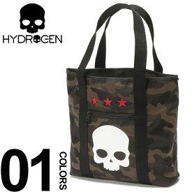 ハイドロゲン HYDROGEN トートバッグ 迷彩 スカルプリント ナイロン ブランド メンズ バッグ 鞄 カモフラージュ HY243902