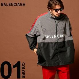 バレンシアガ BALENCIAGA ナイロンジャケット ロゴ ウインドブレーカー ブルゾン ブランド メンズ アウター ビッグシルエット BC534317TDO05