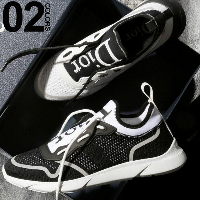 ディオール オム Dior HOMME スニーカー B21 NEO テクニカルニット ロゴ ニットスニーカー ブランド メンズ 靴 CD3SN243YJC