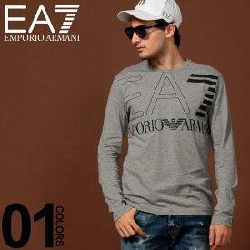 エンポリオ アルマーニ EA7 EMPORIO ARMANI ロンT ロゴ クルーネック 長袖 Tシャツ ブランド メンズ トップス プリント カットソー EA6GPT12PJ02Z SALE_1_b