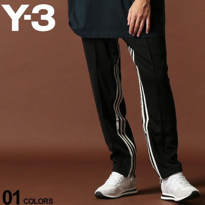 Y-3 ワイスリー トラックパンツ スリーライン STP CROPPED TRACK PANTS ブランド メンズ ボトムス ジャージ Yohji Yamamoto Y3FJ0392