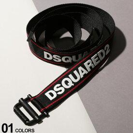 ディースクエアード DSQUARED2 ベルト ロゴ 3D ライン ガチャベルト ブランド メンズ ウェブベルト D2BEM02102020