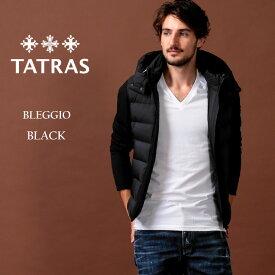 タトラス ダウン メンズ TATRAS ダウンジャケット パーカー フード コンビネーション 切替 ブルゾン BLEGGIO ブレッジョ ブランド アウター TRMTA20A4570