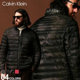 カルバン クライン Calvin Klein CK 中綿ジャケット ライトジャケット パッカブル ロゴ ブルゾン SORONA ブランド メンズ CKCM953900