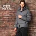 タトラス ダウン メンズ TATRAS ダウンジャケット ウール パーカー フード AGORDO アゴルド ブランド アウター グレー TRMTK20A4148