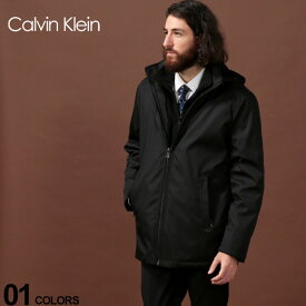 カルバン クライン Calvin Klein CK 中綿ジャケット ナイロン パーカー フード コート フリース フルジップ ブランド メンズ アウター CKCM902936